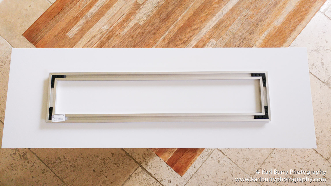 Karl Burry Photography Saal Digital review Foamboard aluminium subframe mounting option