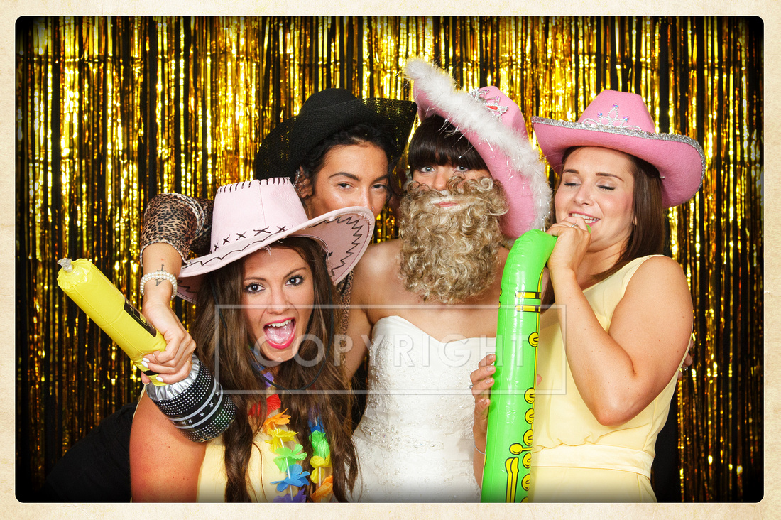 Mobile Studio / Photo Booth setup for wedding receptions and parties