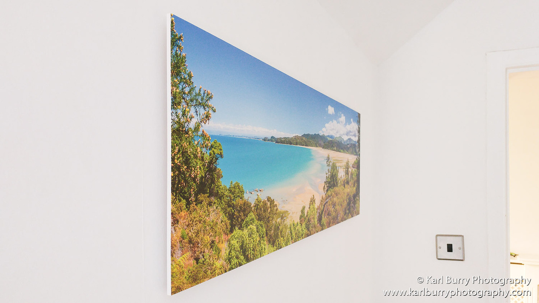 Karl Burry Photography Saal Digital review Foamboard wall hanging